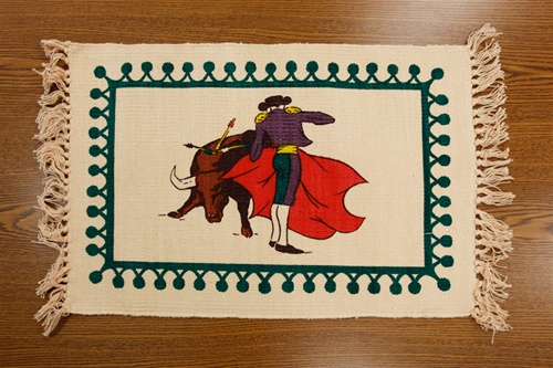 Bullfighter Design Placemat