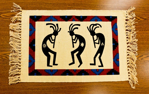Kokopelli Design Placemat
