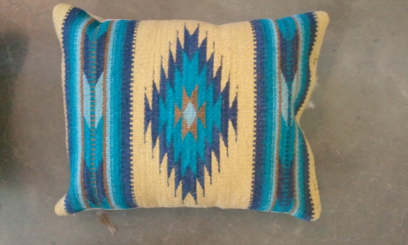 Zapotec Design 10 Pillow