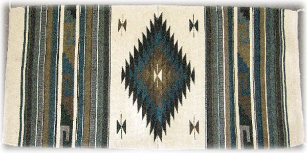Mexican Zapotec Design Rug