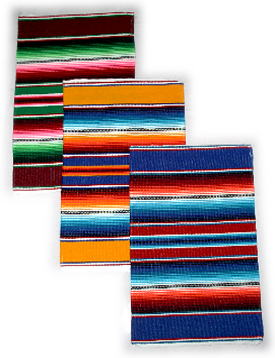Saltillo Serape design Placemat set Of 4