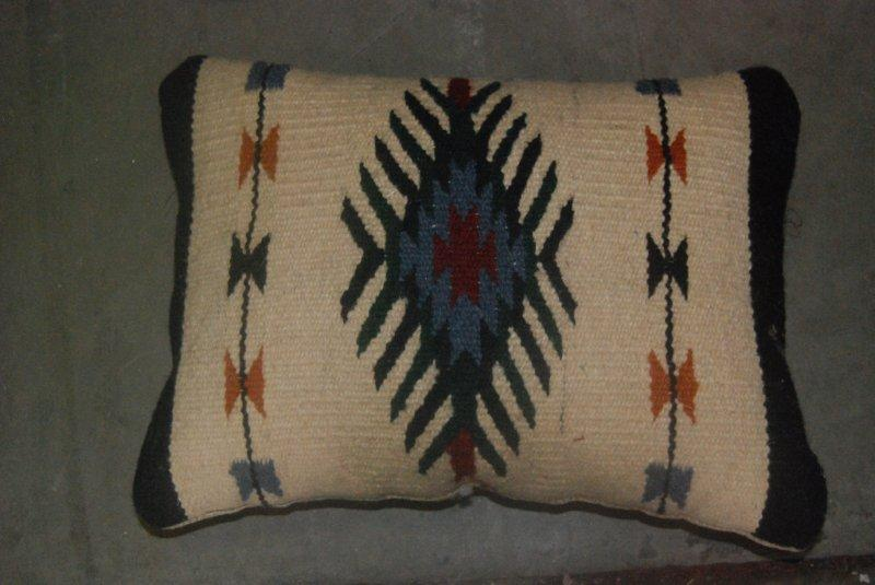 Zapotec Design 8 Pillow