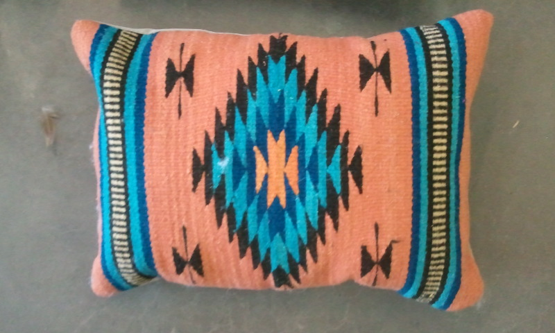 Zapotec Design 12 Pillow