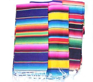 Mexican Falsa Blankets From Mexico Sarape