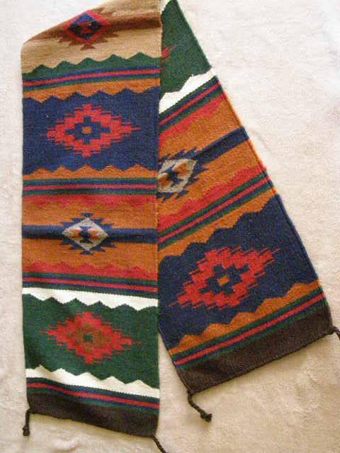Mexican Zapotec Design Table Runner